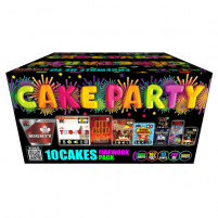 Feux d'artifice Cake Party