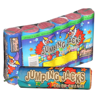Feux d'artifice Jumping Jacks (6pk)
