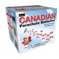 Feux d'artifice Canadian Parachute Battalion