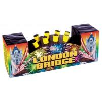 Feux d'artifice London Bridge