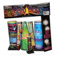 Feux d'artifice Poly Bag