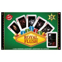 Feux d'artifice Royal Flush