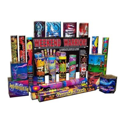 Feux d'artifice Weekend Warrior