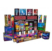 Feux d'artifice Weekend Warrior