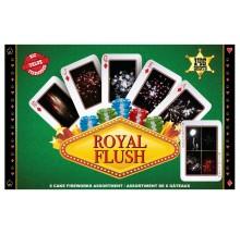 Feux d'artifice Royal Flush
