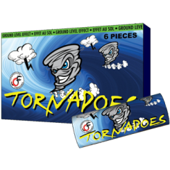 Feux d'artifice Tornadoes (6 PK X 12)
